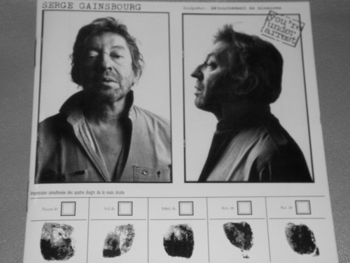 SERGE GAINSBOURG/YOU'RE UNDER ARREST